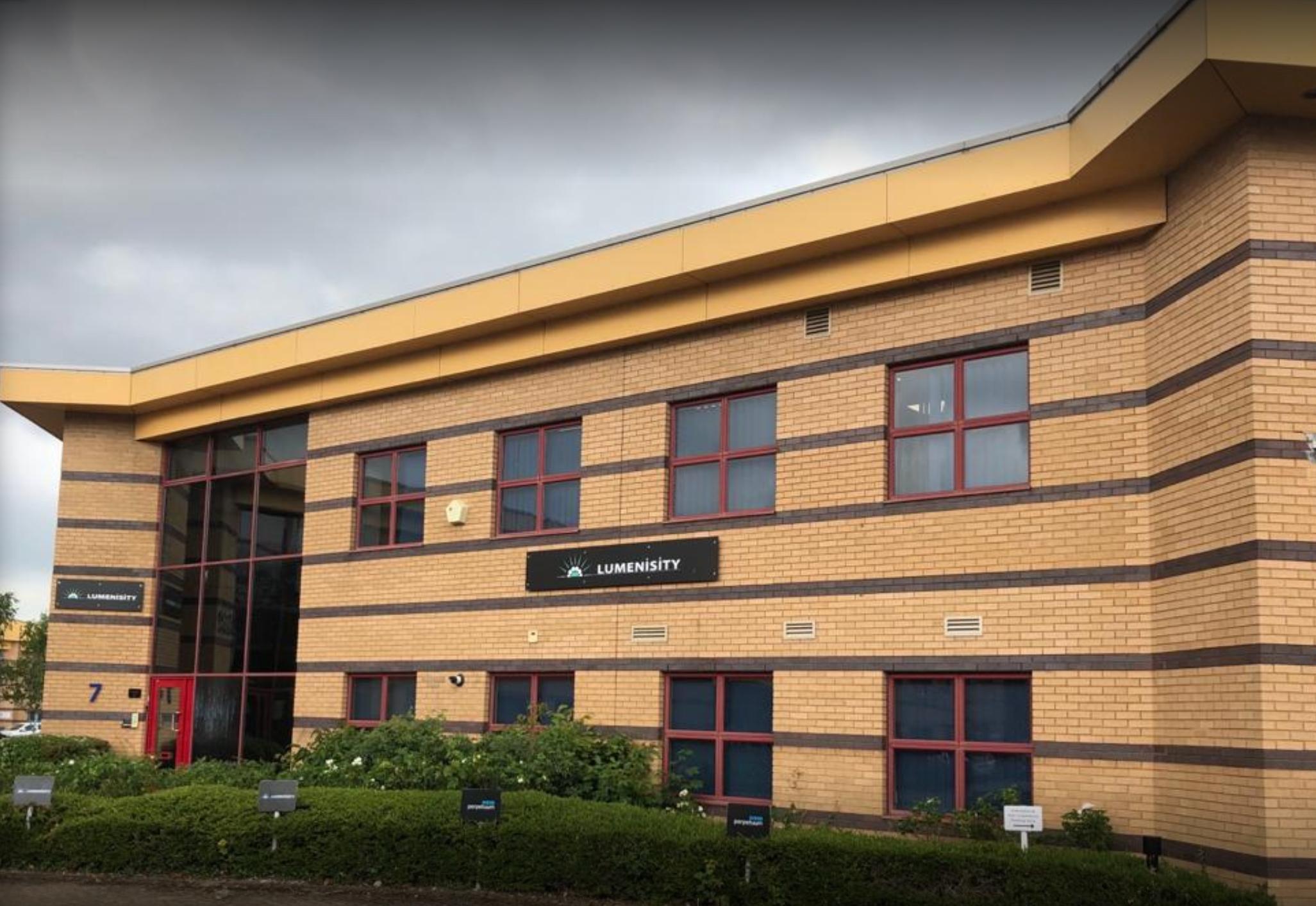 Image of Lumenisity Headquarters building